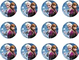 DISNEY FROZEN ANNA AND ELSA Edible Image Cake Toppers Frosting Sheet