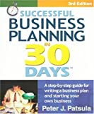 img - for Successful Business Planning in 30 Days: A Step-By-Step Guide for Writing a Business Plan and Starting Your Own Business, Third Edition book / textbook / text book