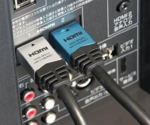 HORIC ハイスピードHDMIケーブル 1.5m イーサネット 3D 4KX2K解像度 フルHD 対応 金メッキ端子 HDM15-892SV