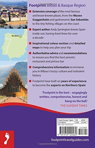 Footprint Handbook Bilbao & Basque Region: Includes Laguardia, Gernika, Vitoria, Lekeito, San Sebastián