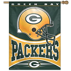 NFL Green Bay Packers 27-by-37 Inch Vertical Flag by WinCraft