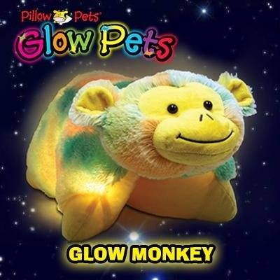 Pillow Pets Glow Pets - Monkey