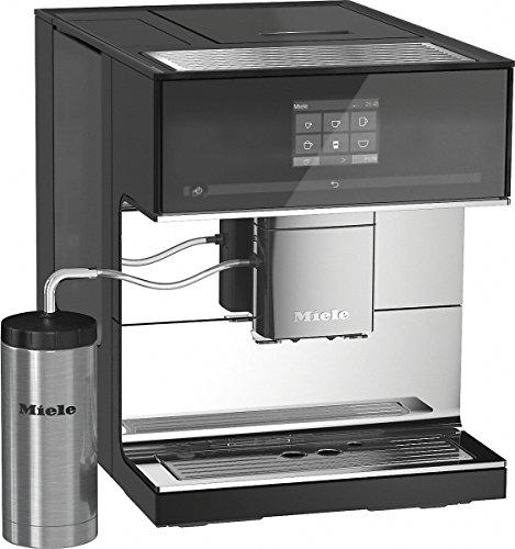 Miele CM7500 Stand-Kaffeevollautomat (Automatische Entkalkung,Coffee und Tea, OneTouch- und OneTouch for Two-Zubereitung) Obsidianschwarz thumbnail