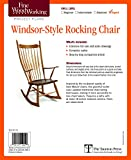 img - for Fine Woodworking's Windsor-Style Rocking Chair Plan book / textbook / text book