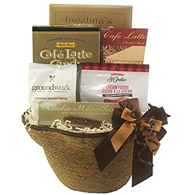 Espresso Yourself Coffee Lovers Gift Basket from Art of Appreciation Gift Baskets