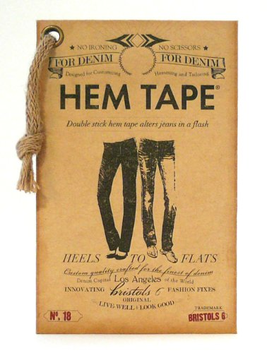 Purchase Double-Stick No Iron No Sew Fashion Hem Tape for Denim (Jeans, Pants, Skirt, Short)