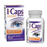 Alcon ICaps Multivitamin Eye Vitamin & Mineral Support, Coated Tablets , 100 tablets