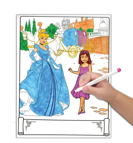Imagen 4 de Disney Princess Crayola Historia Studio Craft Kit