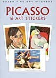 Picasso: 16 Art Stickers (Dover Art Stickers)