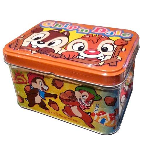 チップ&デール 缶入りクッキー お菓子【東京ディズニーリゾート限定】