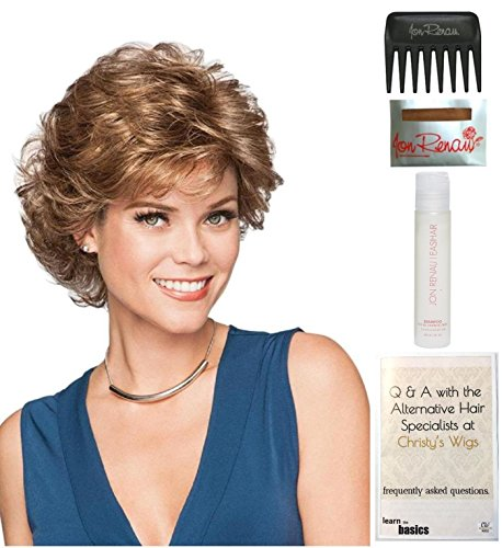 [Belle Wig by Gabor, 15 Page Christy's Wigs Q & A Booklet, 2oz Travel Size Wig Shampoo, Wig Cap & Wide Tooth Comb COLOR SELECTED:] (Belle Wigs)