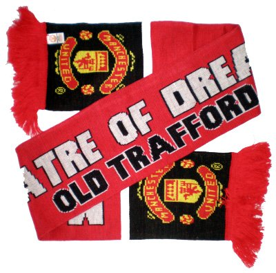 Manchester United FC - Official Old Trafford Scarf