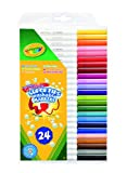 Crayola Supertips Washable - Pack of 24 by Crayola