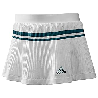 Adidas Ladies Adipure Climalite Tennis Skirt Skort White by adidas