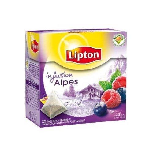 Lipton Infusion Alpes French Tisane 20 Bags