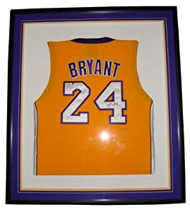 Kobe Bryant Los Angeles Lakers Signed Custom Framed Jersey (JSA) by Luxury Sports Collectibles