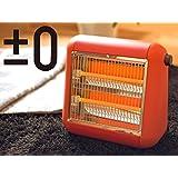 ±0 Infrared Electric Heater XHS-U010 プラスマイナスゼロ 遠赤外線電気ストーブ [レッド]