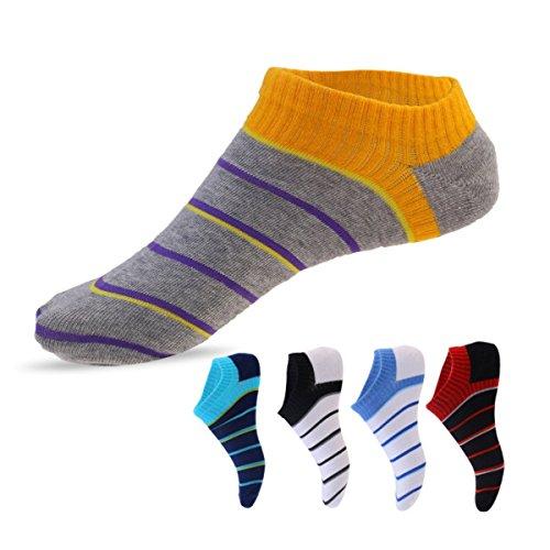 Spring & Summer Hot Sell Simple Stripe Sweat Deodorant Socks ( 5 Pairs) (Halloween Store Portland Oregon)