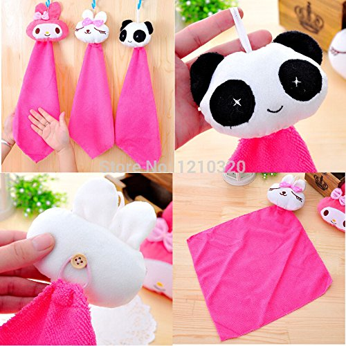 Microfiber Cartoon Absorbent Hand Dry Towel Clearing lovely animal face Towel of Kitchen Bathroom Office Car Use towel 2PCS/Lot