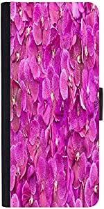 Snoogg Butterfly On Flowers Designer Protective Phone Flip Case Cover For Intex Eco 102E