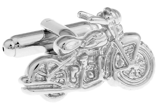 MFYS The motorcycle Cufflinks for Mens classic shirt Cufflink One Pair with Box