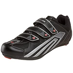 Pearl iZUMi Men's Select Road Cycling Shoe,Black/Silver,45 D EU