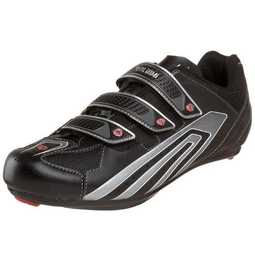 Pearl iZUMi Men's Select Road Cycling Shoe,Black/Silver,44 D EU