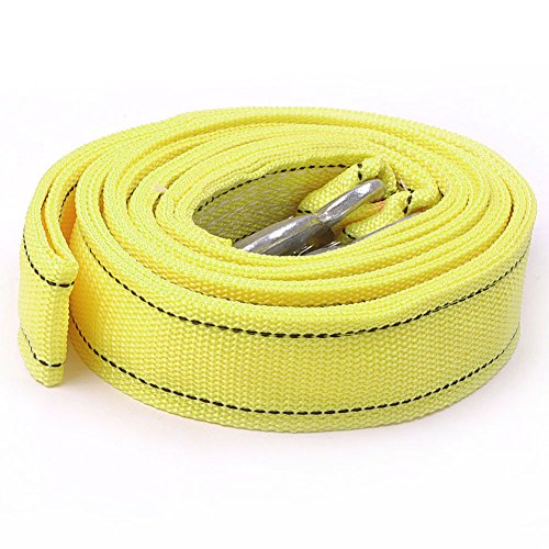 E-Prance New 5 Ton Car Towing Rope With Hooks Emergency Heavy Duty 4M Long front-167318