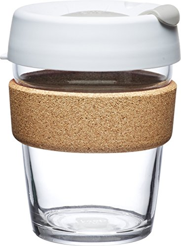 KeepCup Brew Glass Reusable Coffee Cup, 12 oz, Slate (Slate Coffee compare prices)
