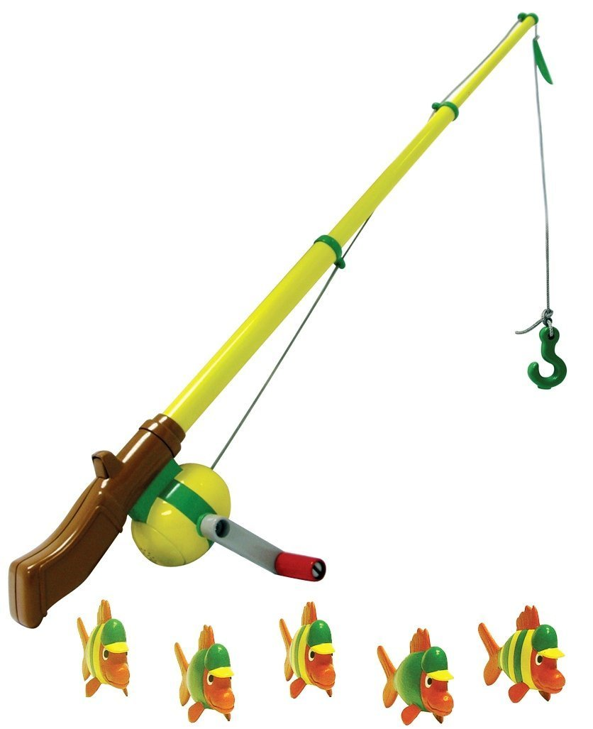 New kids electronic fishing rod magnetic fish childrens for Fishing rod for kids