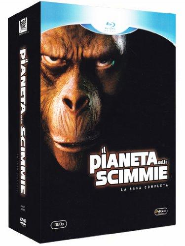 Il pianeta delle scimmie(saga completa) [Blu-ray] [IT Import]