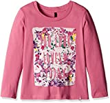 #4: United Colors of Benetton Baby Girls' T-Shirt (16A3094C162EIK271Y_Dark Pink_1Y)