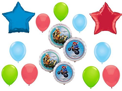 Mario Kart Wii Balloon Decoration Kit
