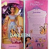 Disney's My Favorite Fairytale Jasmine Doll From Aladdin 2000 Mattel
