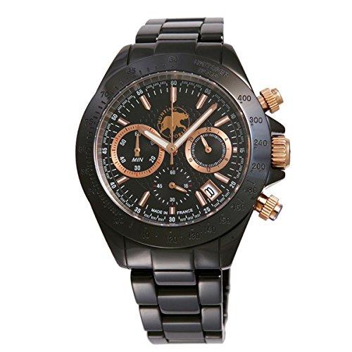 HUNTING WORLD ハンティングワールド 腕時計 メンズ エレガント・エレファント ブラック HW408PBK