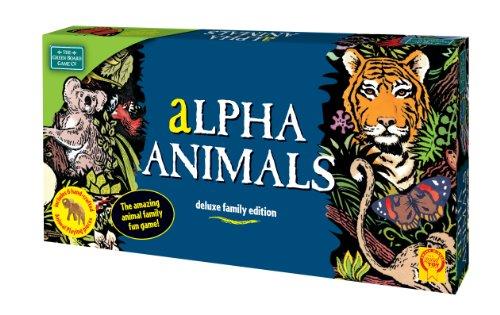 Imagen 1 de Green Board Games Alpha Animals - Juego de mesa (importado de Reino Unido)