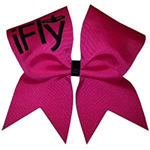 New iFly Cheer Bow-Hot Pink Pink Cheer Bow