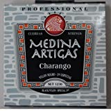 【CHARANGO STRINGS MEDINA ARTIGAS 1230・メディナ・アルティガス】チャランゴ用弦 ナイロン製【黒・3コース 太弦 巻き弦】