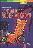 echange, troc Agatha Christie - Le Meurtre de Roger Ackroyd