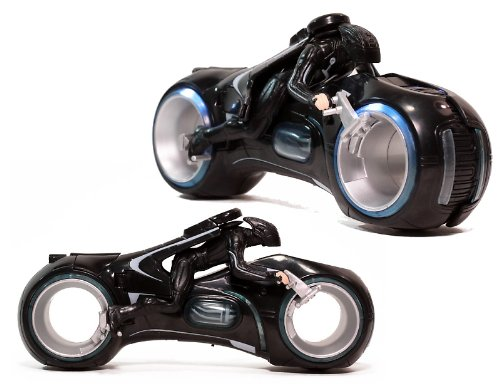 Buy Low Price Spin Master Tron Deluxe Light Cycle Figure (B0038OMF8K)