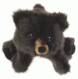 Folkmanis Puppet Baby Black Bear