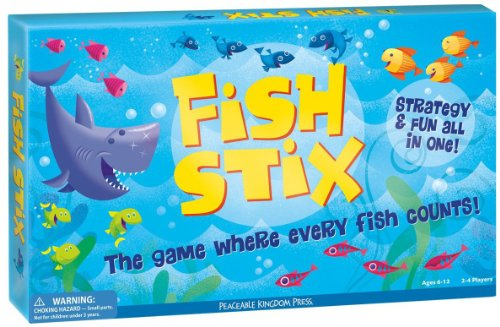 Peaceable Kingdom / Award-Winning Fish Stix - The Game Where Every Fish Counts front-965749