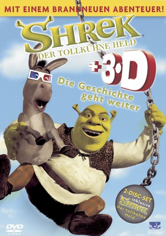 Shrek - Der tollkühne Held (3D Special Edition) [2 DVDs]