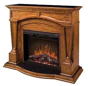 Dimplex Bridgewood Oak Electric Fireplace Sepo4500fb Smokeless Fireplaces