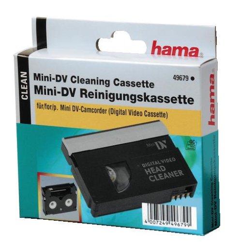 HAMA-Cassetta-di-Pulizia-Mini-DV-Confezione-per-Gancio-Nero