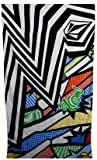 Aquis Bath Towel Reviews Volcom Comicazee Beach Towel Art
