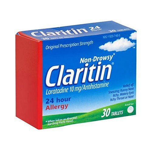 Claritin 24 Hour Allergy, 30-Tablets