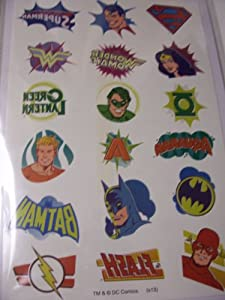 DC Comics Hand Tattoos ~ Superman, Wonder Woman, Green