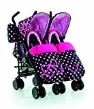 Cosatto Supa Dupa Twin Stroller (Bow How)