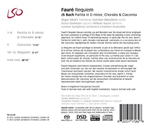 Faure: Requiem by London Symphony Orchestra